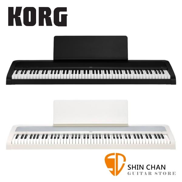 Korg B2 88鍵 數位電鋼琴/數位鋼琴 無琴架款【原廠譜板,單音踏板,原廠公司貨,兩年保固再附贈多樣配件 】