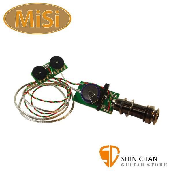 MiSi ATVT 可充電式拾音器【Acoustic TrioVT】【原廠公司貨/一年保固】