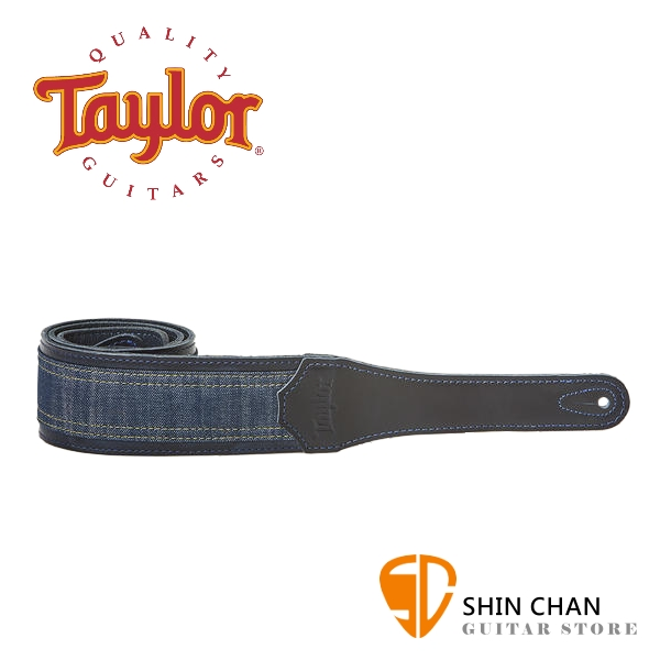 Taylor Blue Denim 背帶 適用民謠吉他/電吉他/電貝斯【型號:D250-10】