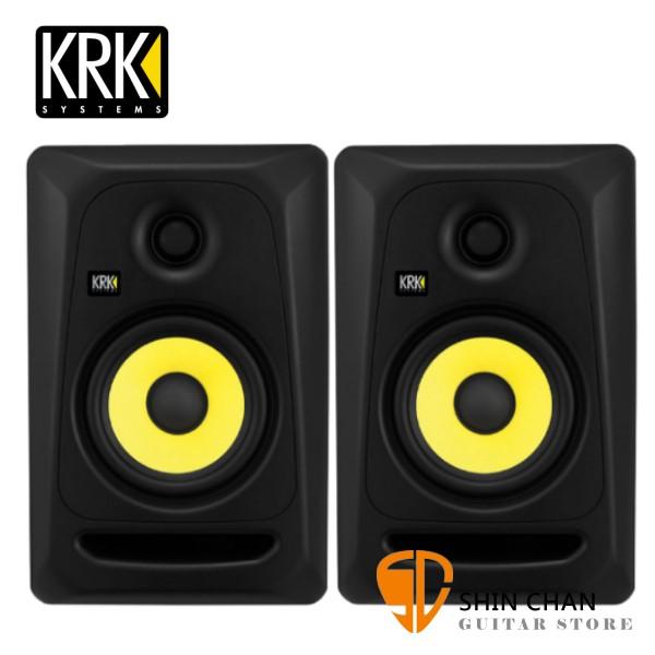 KRK Classic5 CL5G3 主動式監聽喇叭/5吋錄音室專用【黑色/一對兩顆/台灣公司貨保固】