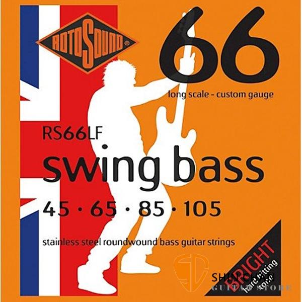 ROTOSOUND RS66LF 電貝斯弦 (45-105)【英國製/BASS弦/RS-66-LF】