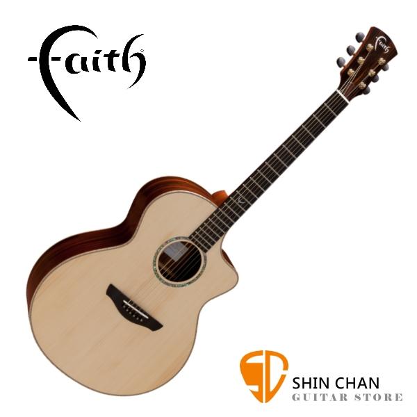Faith 英國名牌 FNCHG 41吋 全單板 民謠吉他 附贈吉他硬盒 CASE 印尼製【型號:FNCHG/木吉他】