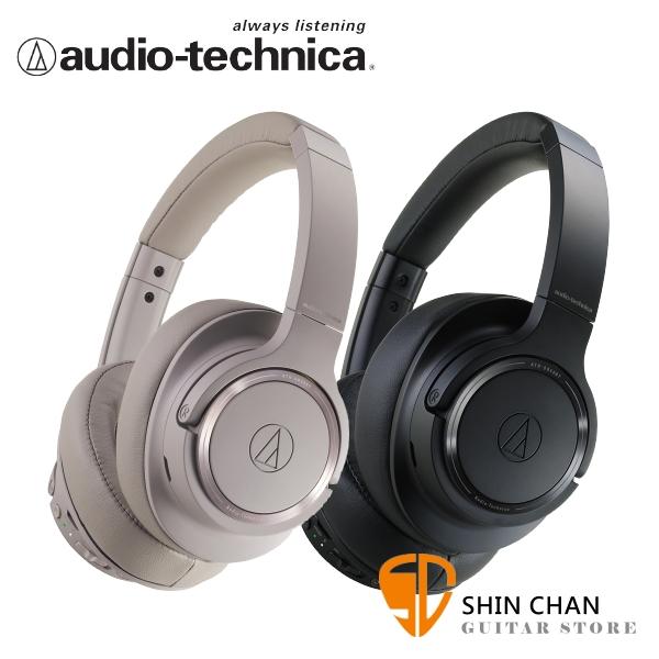 鐵三角 ATH-SR50BT 無線抗噪藍牙 耳罩式耳機 audio-technica原廠公司貨