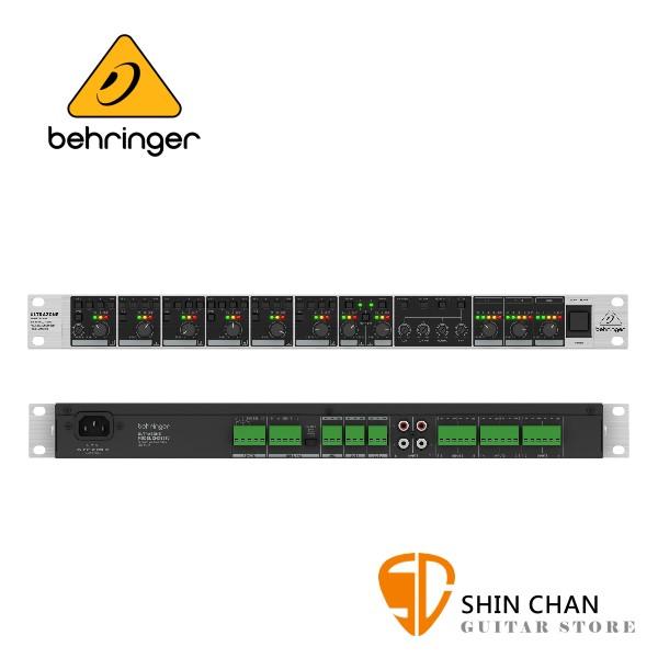 Behringer ULTRAZONE ZMX8210  8軌機櫃式混音器【原廠公司貨保固/四段EQ可調整】