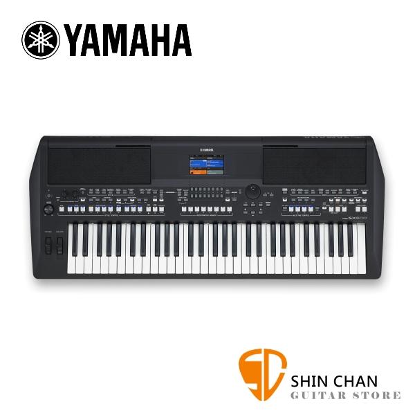 YAMAHA 山葉 PSR-SX600 61鍵電子琴 附原廠琴袋 高階數位工作站音質 原廠公司貨 一年保固