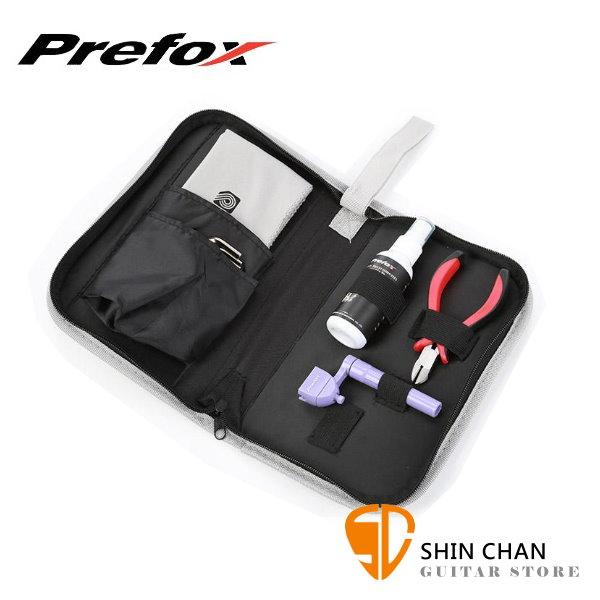 Prefox TL-102A 民謠吉他/電吉他/電貝斯換弦保養工具包【TL102A】