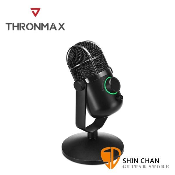 Thronmax Dome USB 電容式麥克風 取樣率48kHz 16bits / USB連接/無驅動隨插即用