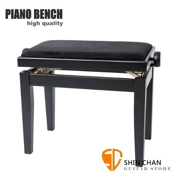 PIANO BENCH 黑色鋼琴椅 PJ023 可調整高度鋼琴椅/電鋼琴椅/電子琴椅/piano琴椅/Keyboard椅 GEWA同款