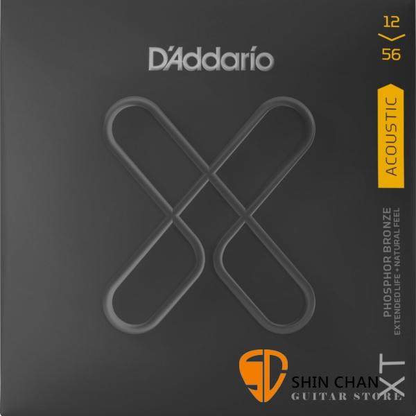 美國 DAddario XTAPB1256 (12-56) 磷青銅 民謠吉他弦 【XTAPB-1256/木吉他弦專賣店】