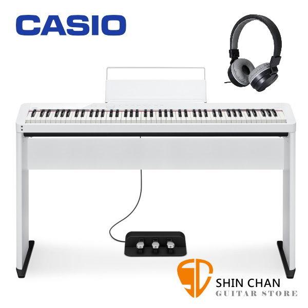 Casio PX-S1000 白色 88鍵 電鋼琴 含原廠腳架 / 三音踏板 PXS1000 台灣卡西歐公司貨