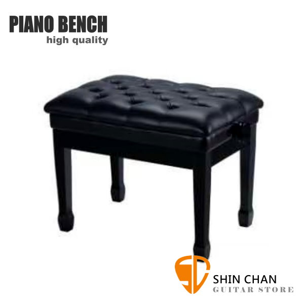 PIANO BENCH 豪華升降鋼琴椅 PJ006 黑色 可調整高度鋼琴椅/電鋼琴椅/電子琴椅/piano琴椅/Keyboard椅