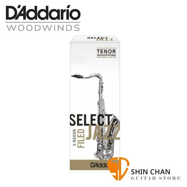 竹片►美國 RICO Select Jazz 次中音 薩克斯風竹片  3 Medium Tenor Sax (5片/盒)
