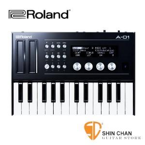 合成器▻ Roland A-01K  限量版 迷你音源機 藍芽MIDI功能 + 控制鍵盤組【A-01 + K-25M】