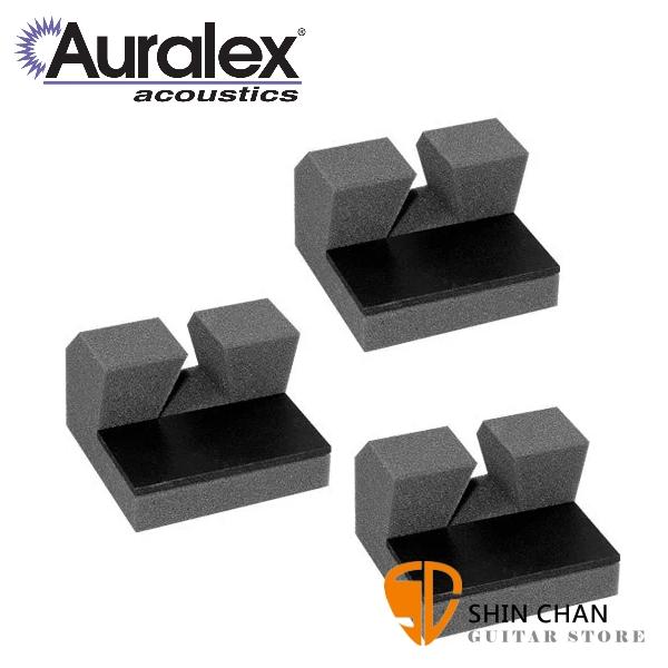 Auralex PlatFeet-II 麥克風架/打擊樂器支架 制震墊 (一組三個)