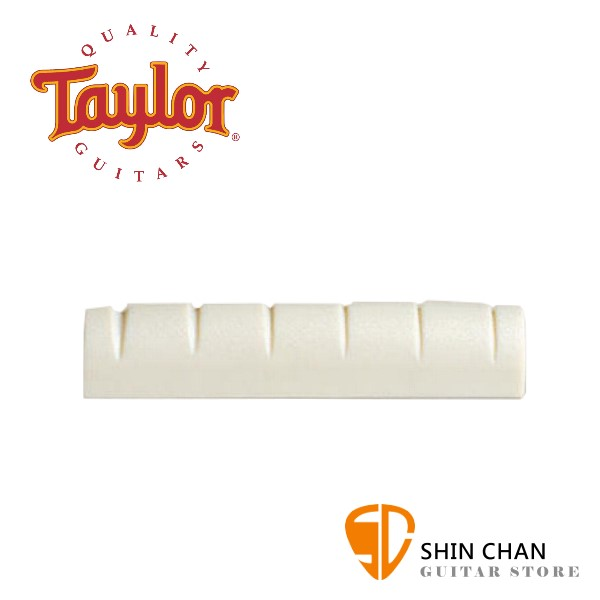 Taylor 人造象牙民謠吉他上弦枕 型號: 80503 LH【Taylor吉他原廠/Acoustic Saddle/Baby Taylor & 左手琴適用】
