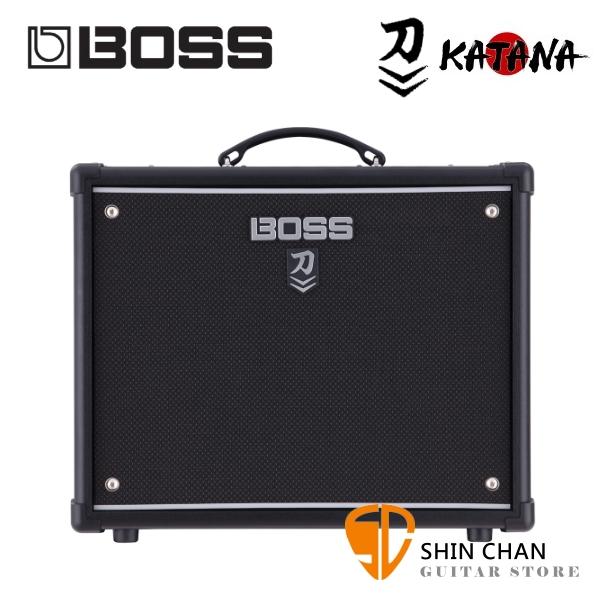 Boss KATANA-50 MkII 刀 50瓦電吉他專用音箱 全新二代 Roland原廠公司貨 一年保固【KTN50 MKII/KATANA50】