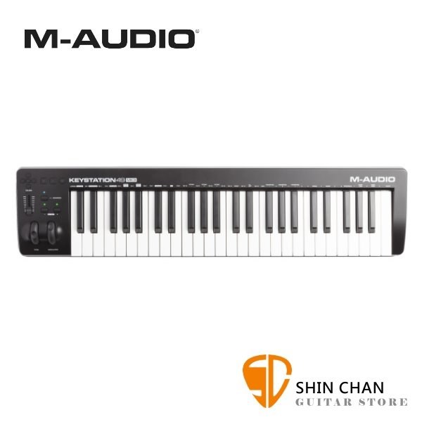 M-AUDIO Keystation 49 MKiii / mkⅡI  49鍵 三代 USB主控鍵盤/ MIDI鍵盤 台灣公司貨