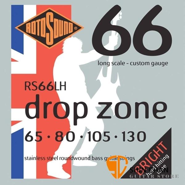 ROTOSOUND RS66LH 電貝斯弦 (65-130)【英國製/BASS弦/RS-66-LH】