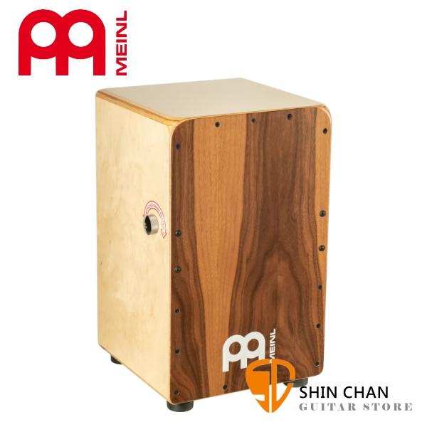 德國品牌 MEINL SCP100WN 木箱鼓 CAJON 胡桃木 內建響線:可調式小鼓響線【Snarecraft Professional Series Cajon】