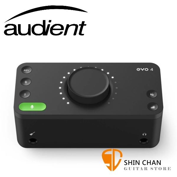 Audient Evo 4 USB錄音介面 2進2出 原廠公司貨 一年保固【Evo4】