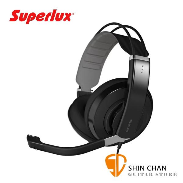 Superlux HMC681EVO 半封閉 耳罩式 電競耳機麥克風【線上遊戲/視訊會議/遠端教學/耳麥】
