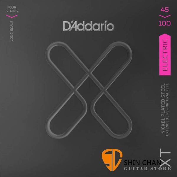 美國 DAddario XTB45100 電貝斯弦 (45-100)【XTB-45100/木吉他弦專賣店】