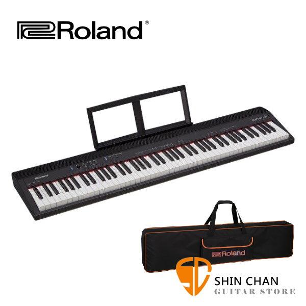 【預購】鍵盤 Roland GO PIANO 88 全音域 88鍵 電鋼琴 / 數位鋼琴 附原廠琴袋 / Go Piano 88 台灣樂蘭公司貨 附延音踏板 GO-88P