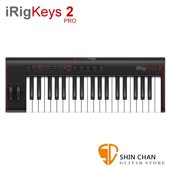 iRig Keys 2 PRO 37鍵 全尺寸按鍵 Midi控制鍵盤【適用iPhone/iPad/Android和Mac/PC】