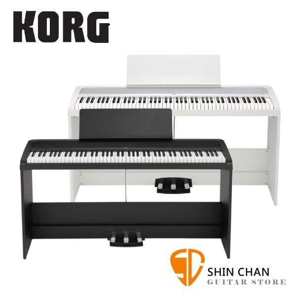 Korg B2SP 88鍵 數位電鋼琴/數位鋼琴【原廠譜板,琴椅,琴架,三音踏板,原廠公司貨,兩年保固再附贈多樣配件 】