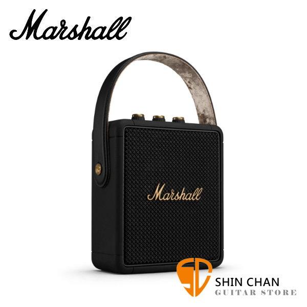 限量古銅黑金 Marshall Stockwell II 攜帶式藍牙喇叭 全新二代 Stockwell Ⅱ 藍芽 台灣公司貨