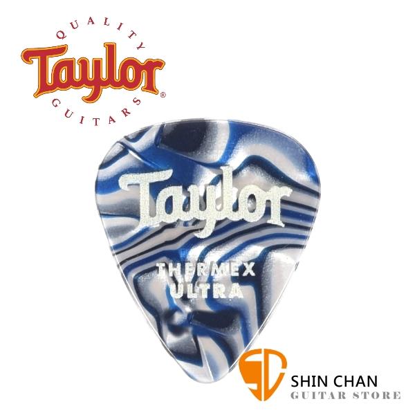 Taylor 超頂級彈片 Thermex Ultra Picks Blue Swirl 進口原廠彈片 Pick【厚度:1.0mm/1.25mm/1.5mm】80729/80730/80731