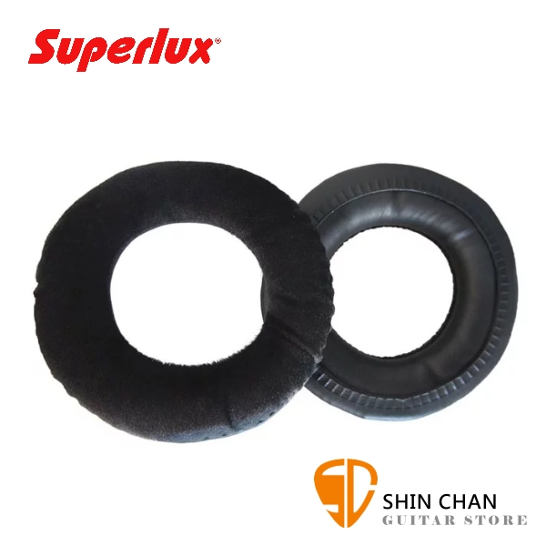 Superlux EPK681-V 絨布耳罩 替換用 適用於HD681 / 681B / 681F / HD668B / AKG K240