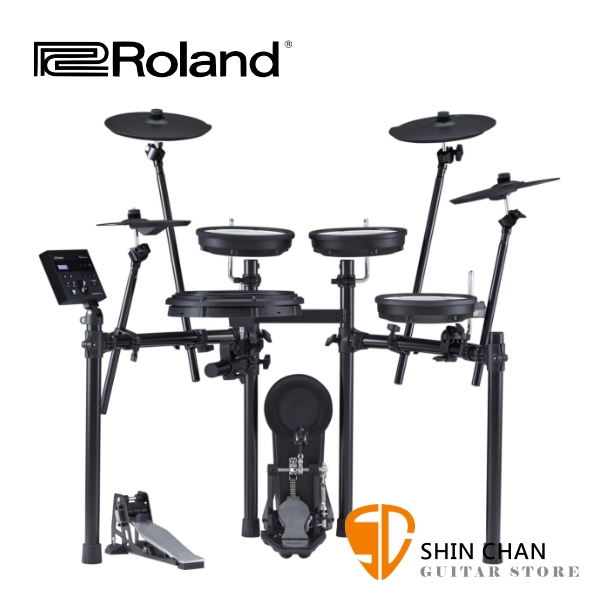Roland TD-07KX 電子鼓 全網狀鼓面 附大鼓踏板/鼓椅/鼓棒/TD07KX/原廠公司貨一年保固
