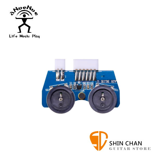 aNueNue Air Blue 烏克麗麗拾音器 / 主動式雙系統拾音器 內建麥克風 台灣公司貨