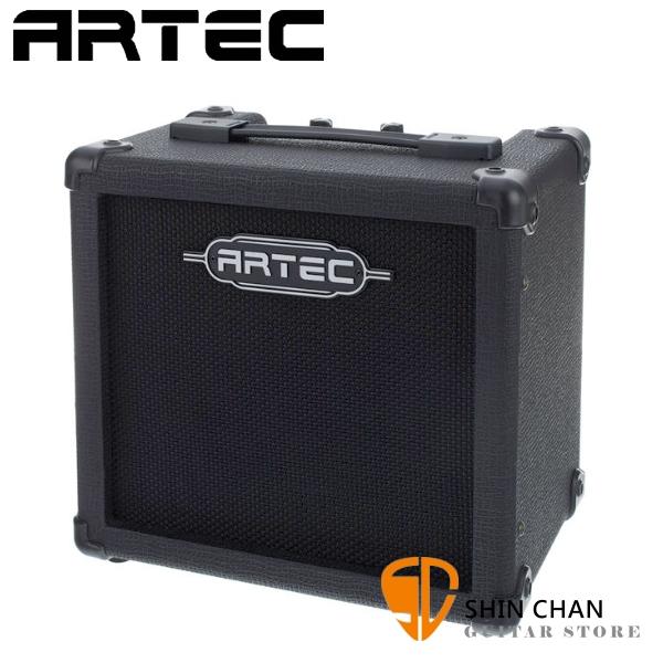 (SC特賣) Artec G1R CUBIX 15瓦電吉他音箱 內建Reverb效果器 (可裝電池) 附變壓器【ARTEC音箱專賣店/G-1R】
