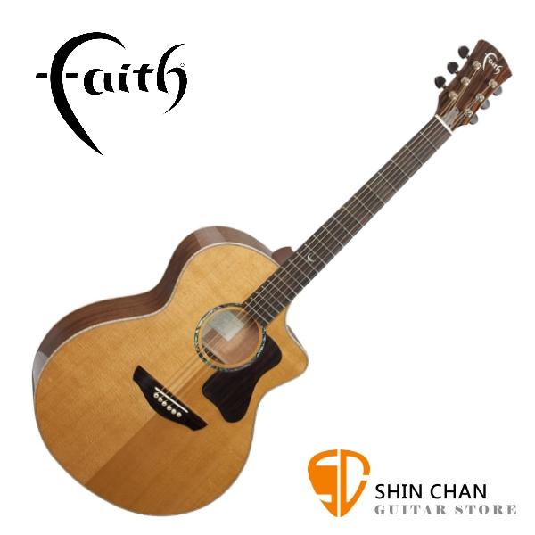 Faith 英國名牌 FG1NC-NPX 41吋 全單板 民謠吉他 附贈吉他硬盒 CASE 印尼製【木吉他】