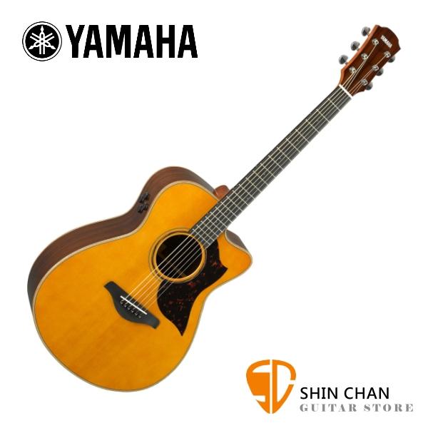 YAMAHA 山葉 AC3R ARE 全單板可插電民謠吉他 附原廠輕體軟盒 另贈好禮【電木吉他/AC-3R ARE】