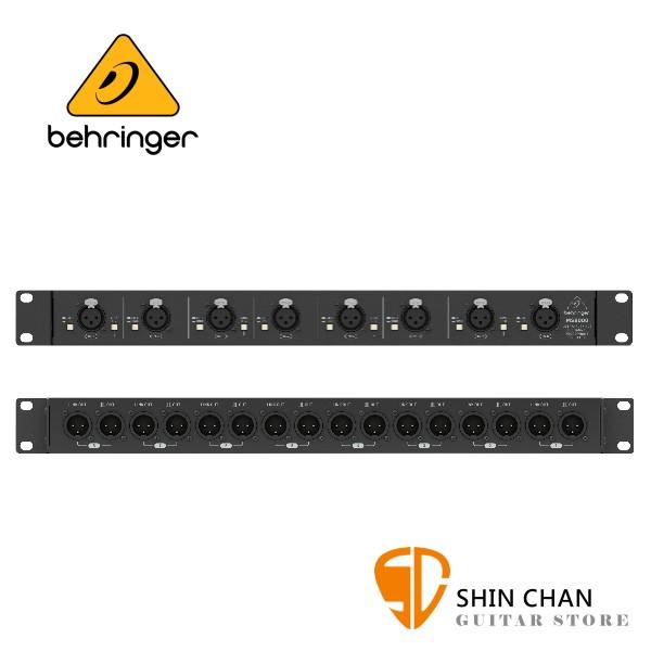 Behringer MS8000  8軌麥克風分配器【原廠公司貨保固/MS-8000】