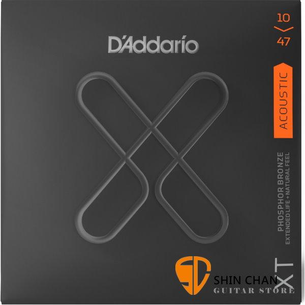 美國 D'Addario XTAPB1047 (10-47) 民謠吉他弦 【XTAPB-1047/木吉他弦專賣店/DAddario】