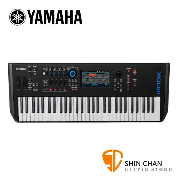 YAMAHA 山葉 MODX6 61 鍵半重鍵鍵盤 合成器【MODX-6】