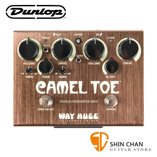 Dunlop WHE209 破音效果器【MXR/Way Huge/Camel Toe】