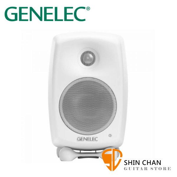 Genelec 8010A 主動式監聽喇叭 白色 / 一顆 單顆 台灣公司貨 芬蘭製造 3吋單體 錄音室專業監聽 五年保固 GENELEC 8010 白