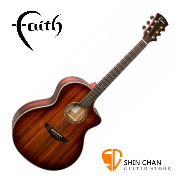 Faith 英國名牌 FNCBMB 41吋 全單板 民謠吉他 附贈吉他硬盒 CASE 印尼製【木吉他】