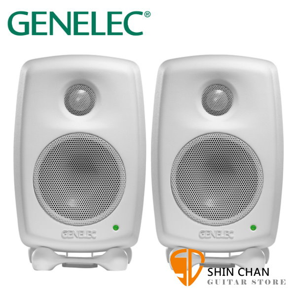 Genelec 8010A 主動式監聽喇叭 白色 / 一對二顆 台灣公司貨 芬蘭製造 3吋單體 錄音室專業監聽 五年保固 GENELEC 8010