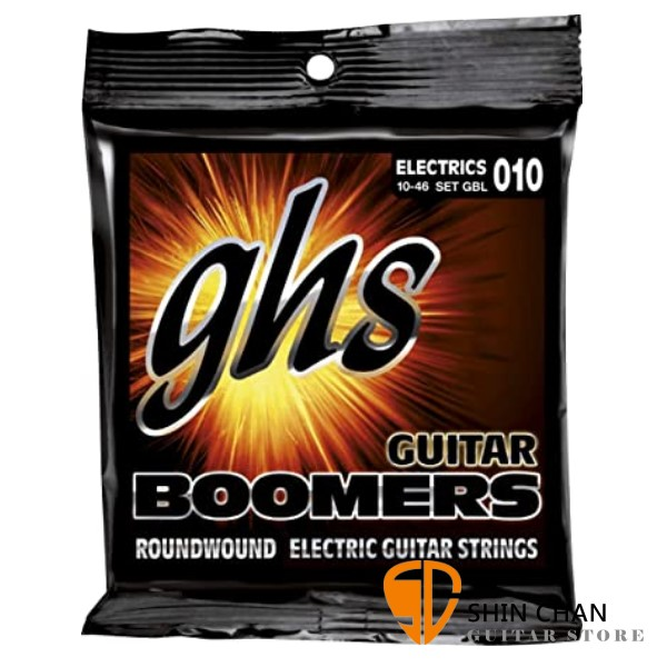 GHS Boomers Set GBL 電吉他弦 (10-46)【美國製/電吉他弦/Set-GBL】