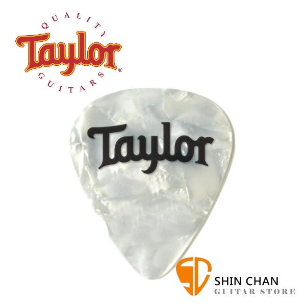 Taylor Celluloid White Pearl 進口原廠彈片 Pick【厚度:0.46mm/0.71mm/0.96mm】80722/80723/80724