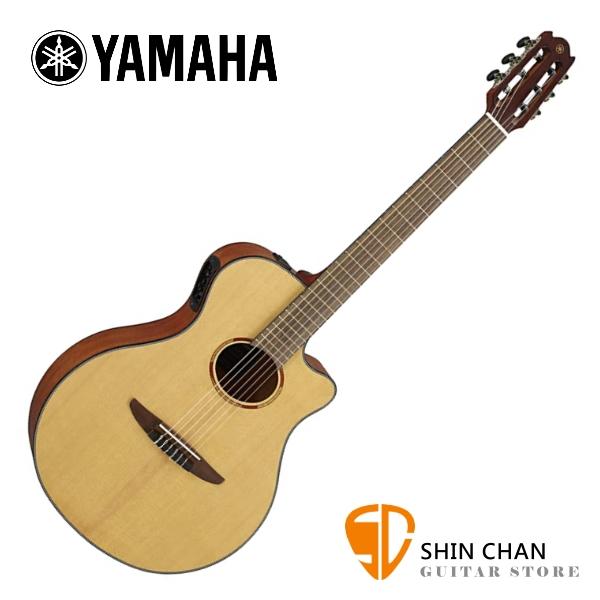 YAMAHA 山葉 NTX1 單板 可插電古典吉他 原廠公司貨 附原廠琴袋【專為民謠吉他和電吉他手設計/細琴頸好握/琴身舒適】