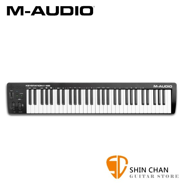 M-AUDIO Keystation 61 MKIII  三代 61鍵USB主控鍵盤(半重鍵盤)