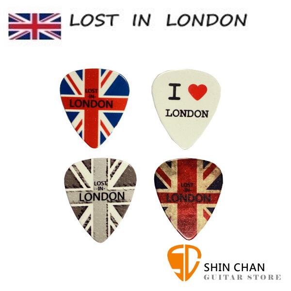 Comet 英國倫敦Lost in London 獨家限量設計Pick 4片一組