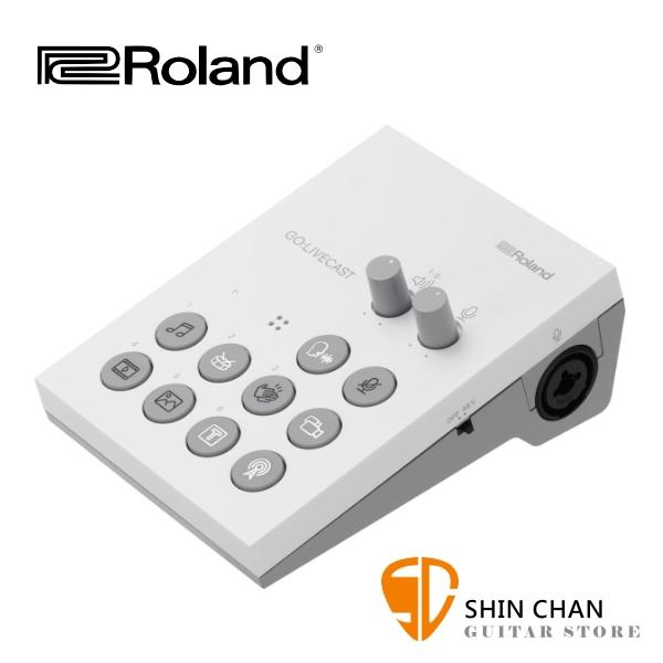 Roland GOLIVECAST 手機多功能直播機 / 可雙鏡頭子母畫面 / 導播機 台灣公司貨 Go:LiveCast